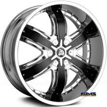 DIABLO WHEELS - RAZOR - Chrome