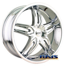 Dip Rims - BIONIC - chrome