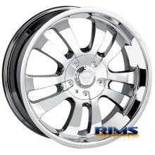 Dip Rims - D10 - chrome