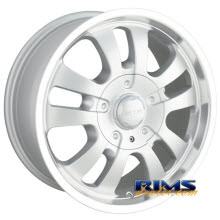 Dip Rims - D10 - machined w/ silver