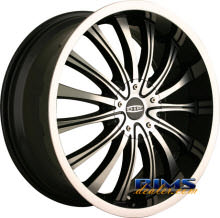 Dip Rims - HYPE - machined w/ black
