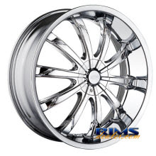 Dip Rims - SLACK-[D66] - chrome
