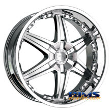 Dip Rims - WICKED-[D39] - chrome