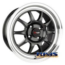 Drag Wheels - DR16 - machined w/ gunmetal