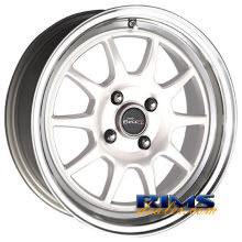Drag Wheels - DR16 - machined w/ white
