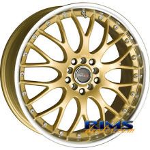 Drag Wheels - DR19 - machined w/ gold