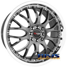 Drag Wheels - DR19 - machined w/ gunmetal