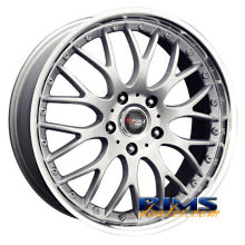 Drag Wheels - DR19 - machined w/ silver
