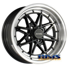 Drag Wheels - DR20 - machined w/ black