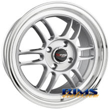 Drag Wheels - DR21 - machined w/ silver