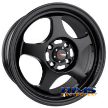 Drag Wheels - DR23 - black flat