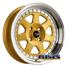 Drag Wheels - DR27 - machined w/ gold