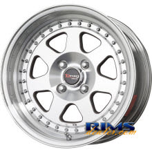 Drag Wheels - DR27 - machined flat