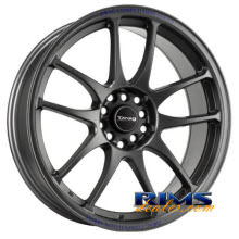 Drag Wheels - DR31 - gunmetal flat