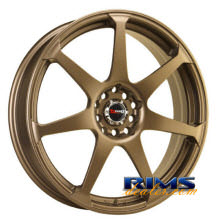 Drag Wheels - DR33 - bronze flat