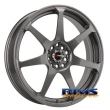 Drag Wheels - DR33 - gunmetal flat