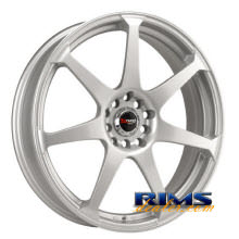 Drag Wheels - DR33 - silver flat