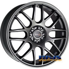 Drag Wheels - DR34 - gunmetal flat