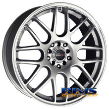 Drag Wheels - DR34 - machined w/ silver