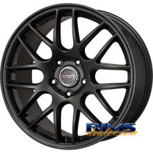 Drag Wheels - DR37 - black flat