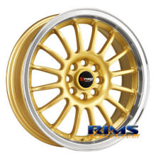 Drag Wheels - DR41 - machined w/ gold