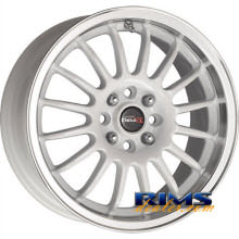 Drag Wheels - DR41 - machined w/ white