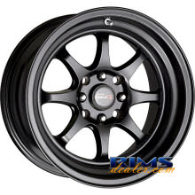 Drag Wheels - DR54 - black flat