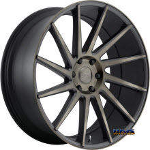 DUB - S128 - CHEDDA - Machined w/ Black