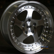 ESR WHEELS - SR02 - Machined Flat