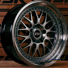 ESR WHEELS - SR01 - HYPERBLACK