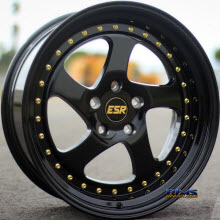 ESR WHEELS - SR02 - Black Gloss