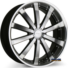 ACE ALLOY - EXECUTIVE C853 - machined w/ black machined lip