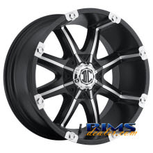 Xtreme - NX-3 - black flat w/ machined