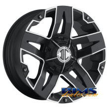 Xtreme - NX-5 - black flat w/ machined