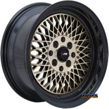 F1R Wheels - F01 - Bronze Flat