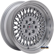 F1R Wheels - F01 - Machined w/ Silver