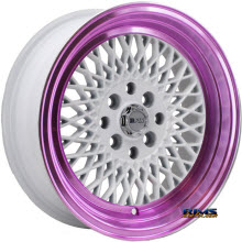 F1R Wheels - F01 - White Flat