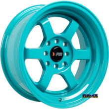 F1R Wheels - F05 - Blue Solid
