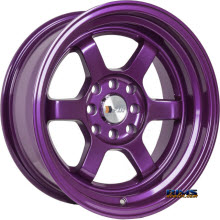 F1R Wheels - F05 - Purple