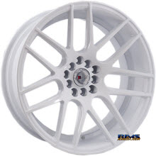 F1R Wheels - F18 - White Flat