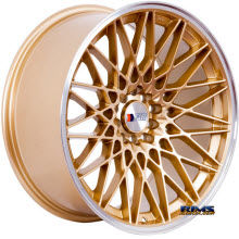 F1R Wheels - F23 - Gold Flat
