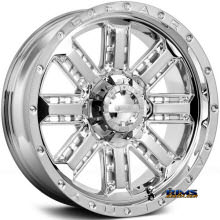 GEAR ALLOY OFF-ROAD - 723C NITRO  - Chrome