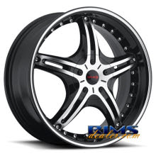Gitano Rims - G59 - machined w/ black