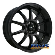 HD Wheels - Clutch - black flat