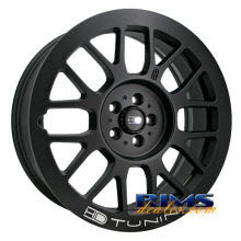 HD Wheels - Gear - black flat