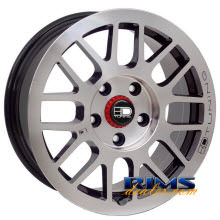 HD Wheels - Gear - silver flat