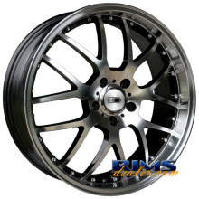 HD Wheels - MSR - machined w/ black