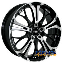 HD Wheels - Spinout - black gloss