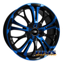 HD Wheels - Spinout - blue