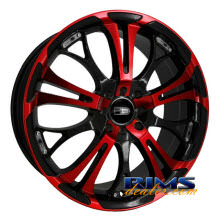 HD Wheels - Spinout - red